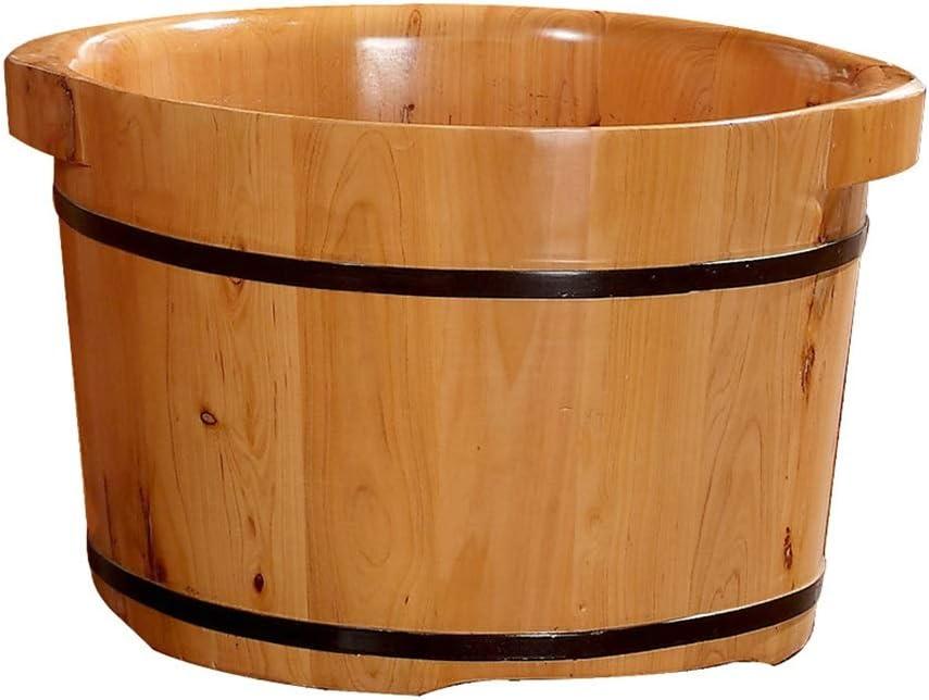 JHDPH Wood Foot Bath Bucket Barrel 4 years warranty New York Mall Fir T