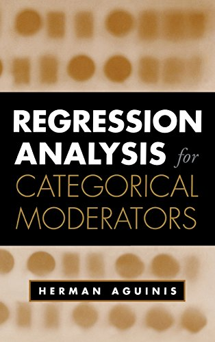 Regression Analysis for Categorical Moderators (Methodology in the Social Sciences)