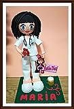 handgemachte Puppe Krankenschwester