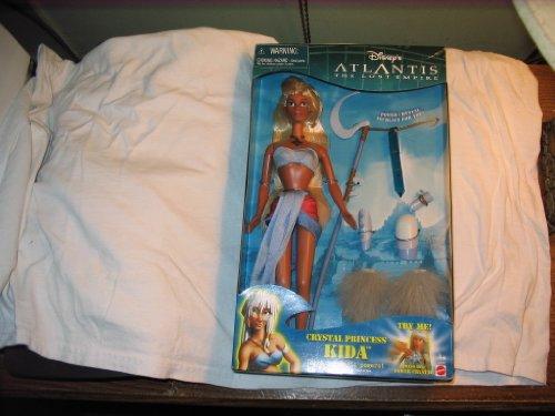 Mattel Disney ATLANTIS el imperio perdido muñeca Kida 2000