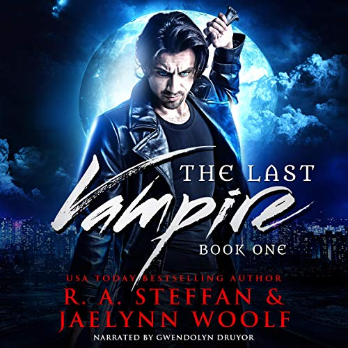 The Last Vampire: Book One                   By:                                                                                                                                 R. A. Steffan,                                                                                        Jaelynn Woolf                               Narrated by:                                                                                                                                 Gwendolyn Druyor                      Length: 6 hrs and 21 mins     3 ratings     Overall 5.0