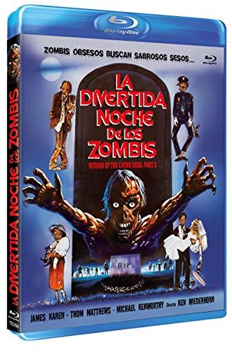 La Divertida Noche de los Zombies BD 1988 Return of the Living Dead: Part II [Blu-ray]