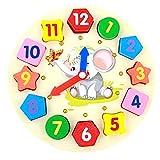 BaoYPP Juguete de Reloj de Madera Animal Reloj Digital Estéreo...