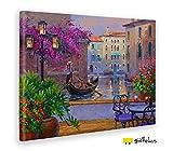 Giallobus - Quadro - Stampa su Tela Canvas Mikki SENKARIK - Quadro con Paesaggio Reflections of Romance - Quadri Moderni di Tela - Vari Formati - 100 x 140 CM