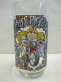 The Great Muppet Caper MISS PIGGY Glass