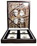 IT 286 The Roman Tetrarchy:A Collection of Four NGC-Slabbed Coins With Beautiful Box, Story Card And Certificate Genuine
