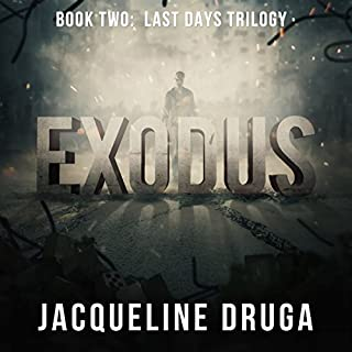 Exodus: Book Two: Last Days Trilogy audiobook cover art