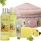 Un Air d'Antan Beauty Set PROVENCE mit Bio Verbena Weihnachtsgeschenk. 1 Handcreme 25ml + 1 Seife...