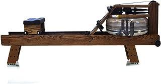 WaterRower Vintage Oak w/ S4 Monitor & Hi Rise Attachment