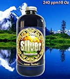 Liquid Silver 16 oz. 240 PPM, Silver Mountain Minerals, (Medical Purity Silver Most Bioavailable colloidally Suspended Nano Particles)