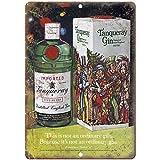 VEHFA Tanqueray Gin Vintage Liquor Ad Reproduction Metal Sign E