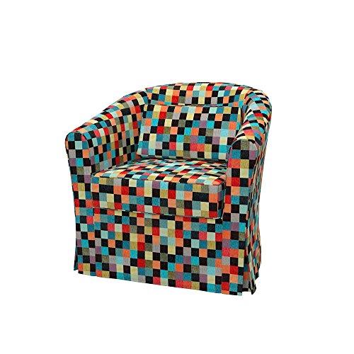 Soferia - IKEA EKTORP TULLSTA Funda para sillón, Mozaik Red