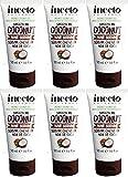 Seis Paquetes de Inecto suave Me Coco Hair Serum 50ml