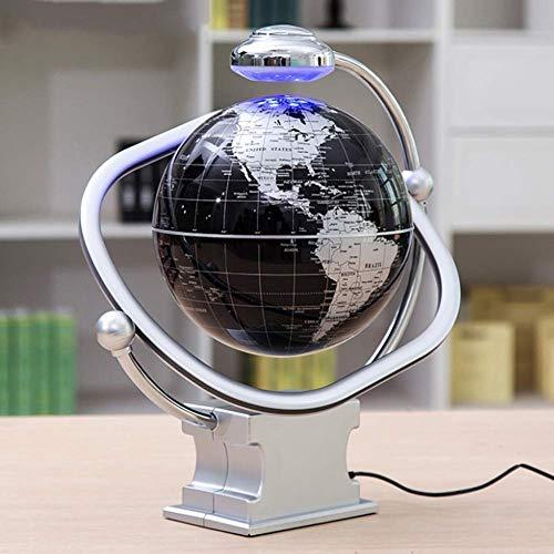 aipipl SuRose World Globe Explore The World Creativo antigravedad Decoración Flotante Levitación magnética Globo Flotante Mapa del Mundo, para decoración de Escritorio, Regalos para niños, 8 pulgad