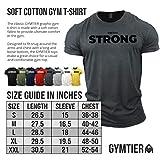 Zoom IMG-2 gymtier strong maglietta bodybuilding abbigliamento