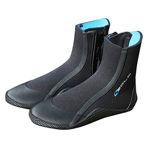 Sola Kids Zipped 5mm Wetsuit Boots 2019 4 UK