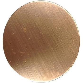 """Lot of 5 16 Gauge 2/"""" Copper Discs"""