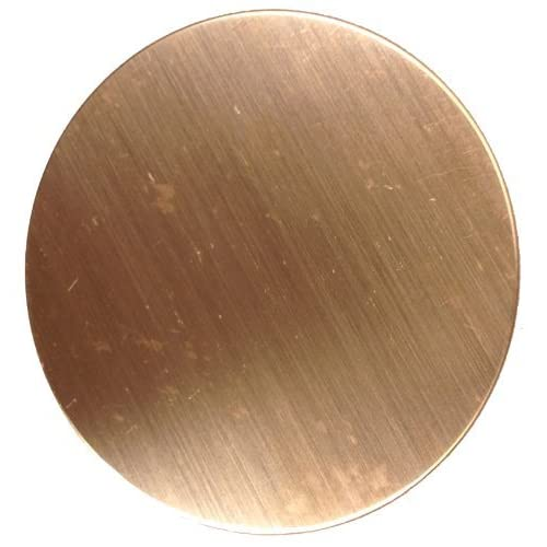 Copper Stamping Blanks Assortment 1.5 1.25 1 Inch 24 Gauge Copper Blanks 6 of Each Size 18 Copper Stamping Blanks Total