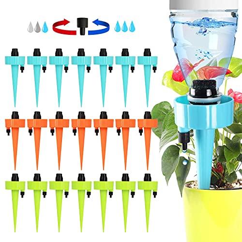 Riego Por Goteo AutomáTico Kit, 21 Pcs Sistema De Riego Plantas, Dispositivo De IrrigacióN...