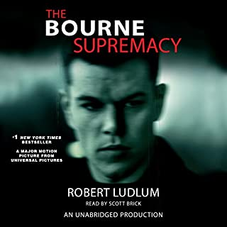 The Bourne Supremacy audiobook cover art