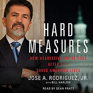 Hard Measures audiobook cover art