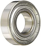 NTN Bearing 6205ZZ Single Row Deep Groove Radial Ball Bearing, Normal Clearance, Steel Cag...