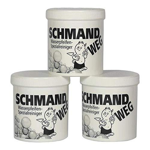 Schmand WEG - Limpiador de Cristales (3 Botes, 150 g Cada uno,...