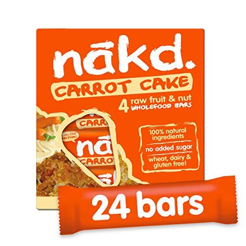 NAKD Bars - Multi Pack case of 24 Bars (Carrot Cake)