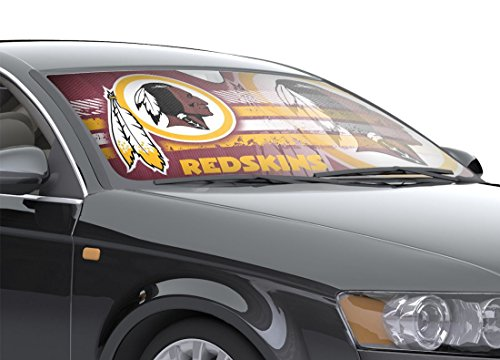 NFL Washington Redskins Universal Auto Shade