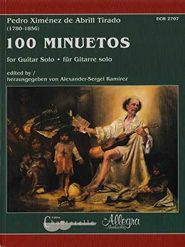 100 Minuetos: Gitarre.