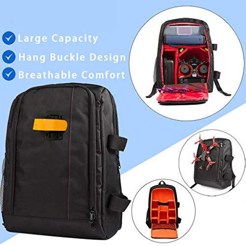 Portable Backpack Carry Case Outdoor Storage Bag for FPV Racing Drone Quadcopter