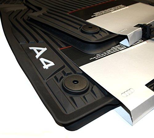 Tappetini originali per Audi A4 B9 8W, per tutte le stagioni, lato anteriore e posteriore 8W1061501041 8W0061511041