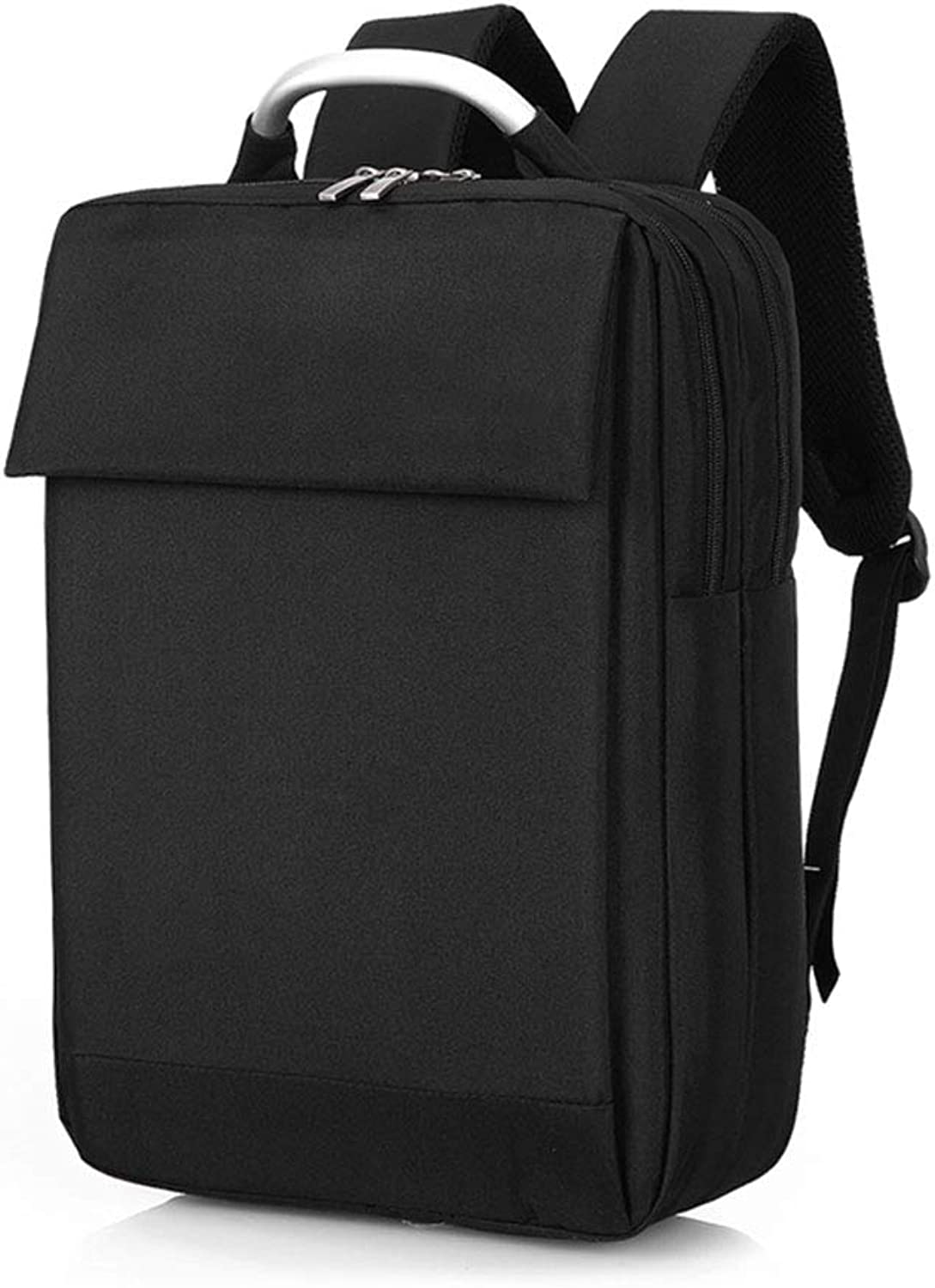 DYYTR School Bag, Computer Backpack Backpack, Youth Fashion Travel Bag Waterproof And Breathable(Black)