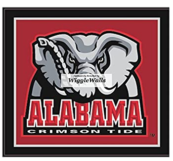 5 Inch Big Al University of Alabama Crimson Tide A Logo ACT Removable Wall Decal Sticker Art NCAA Home Room Decor 5 by 4 1/2 Inches