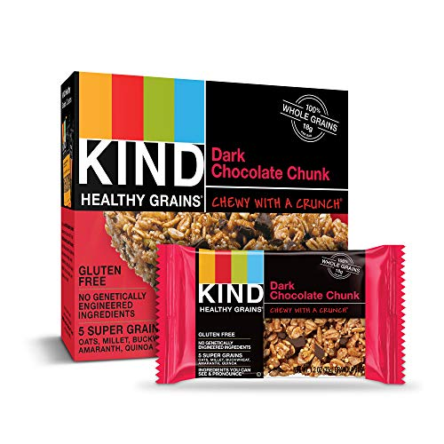 30-Count 1.2-Oz KIND Healthy Grains Bars (Dark Chocolate Chunk) $11.85 w/ S&S + Free S&H w/ Prime or $25+