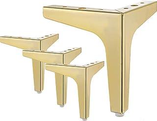 4Pcs Sofa Leg Table Feet Plinth Replacement H 8cm White Heavy Duty Non-Slip