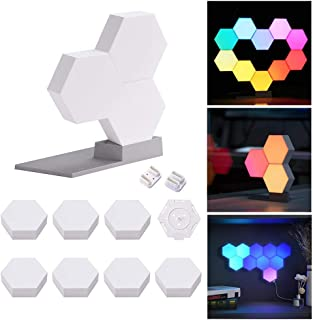 Yescom 10 Pack WiFi Smart LED Light Kit DIY Lable Lamp Voice Control 16 Million Colors Work with Alexa Google Home