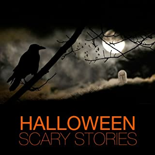 Halloween Scary Stories audiobook cover art