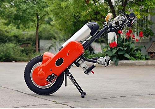YIONGA CAIJINJIN eléctrica Silla de Ruedas Handbike eléctrico para Handicap Manual Deportes Accesorio de Silla de Ruedas (Color : Connect on Both Side)