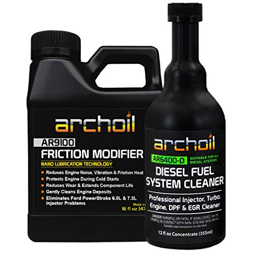 Archoil AR9100 Friction Modifier + AR6400-D Diesel Fuel System Cleaner