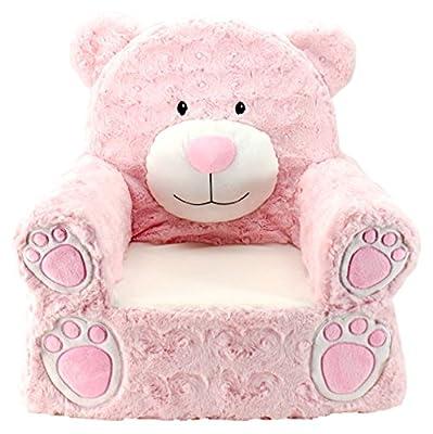 Animal Adventure | Sweet Seats | Pink Bear Children's Plush Chair