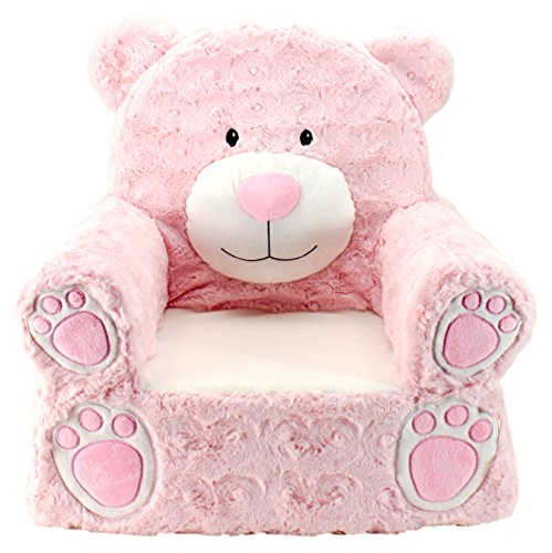 Animal Adventure | Sweet Seats | Pink Bear Children's Plush Chair