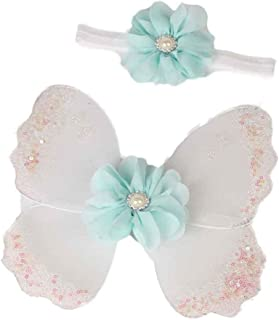 Amiley Newborn Baby Girls Butterfly Wings Costume Photo Photography Prop Outfits