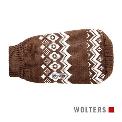 Wolters Norweger Pullover für Mops&Co 30cm braun/weiss