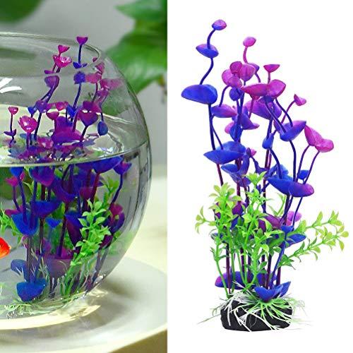 UEETEK 人工水草 リアル 水槽装飾 水槽 オーナメント レイアウト 水族館 アクアリウム 造花