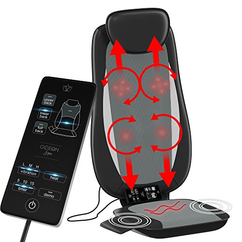 Massaging nodes move up & down - the four shiatsu (4) massaging nodes travel up and down, massaging the entire back Adjustable spot focus massaging - the moving shiatsu massage nodes can be set to pinpoint a specific spot on your back Deep penetratin...