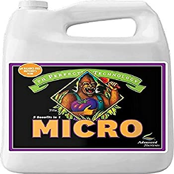 Advanced Nutrients 1401-15 Micro pH Perfect Fertilizer 4 Liter Brown/A