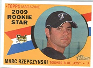 2009 Topps Heritage # (RC) 536 Marc Rzepcynski Toronto Blue Jays -