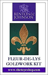 Fleur De Lys - Goldwork Kit by Benton & Johnson