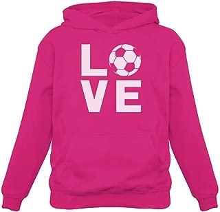 TeeStars - I Love Soccer - Gift for Soccer Players/Fans Women Hoodie